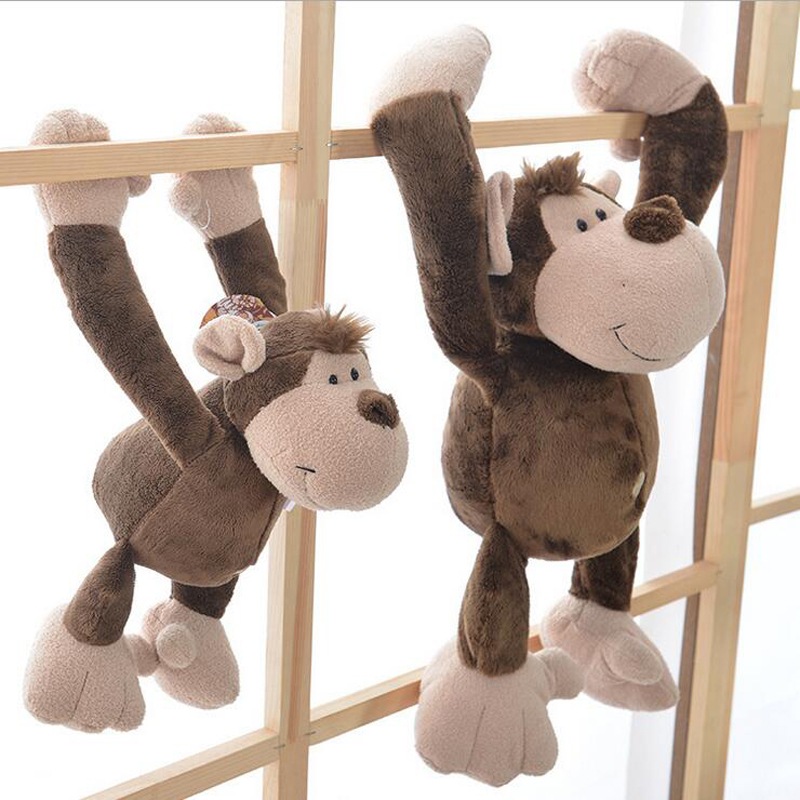 Hot Sale Cute Long Arm Monkey Plush Toy Stuffed Animal Monkey