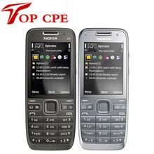 Оригинал e52 nokia mobile телефон bluetooth wifi gps 3 г сотовый телефон русская клавиатура в наличии восстановленное