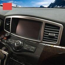 Lsrtw2017 Тюнинг автомобилей автомобиля экран панели отделкой Dashboard Vent отделкой для Nissan Quest 2012 2013 2014 2015 2016 2017 2018 RE52