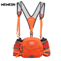 Stylish Sport Waist Bag Multifunctional Hiking Cycling Backpack Outdoor Running Waist Bag Portable Camping Mountaineering Pack