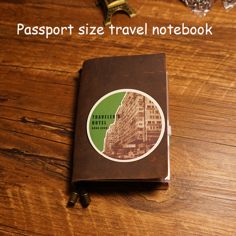 New 2016 100% genuine leather case travel journal notebook 4 inside page diary spiral school supplies vintage planner notebook kawaii office notebook planner travelers notebook stationery fashion school notebook planner diary bullet journal defter hjw094 page 7 page 4 page 9