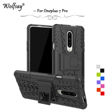 OnePlus 7 Pro Case Shockproof Armor Rubber Silicone Hard PC Phone For Back Cover 1+7 Fundas