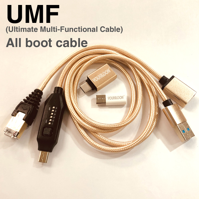 Latest Original UMF Cable (Ultimate Multi-Functional Cable) All Boot Cable