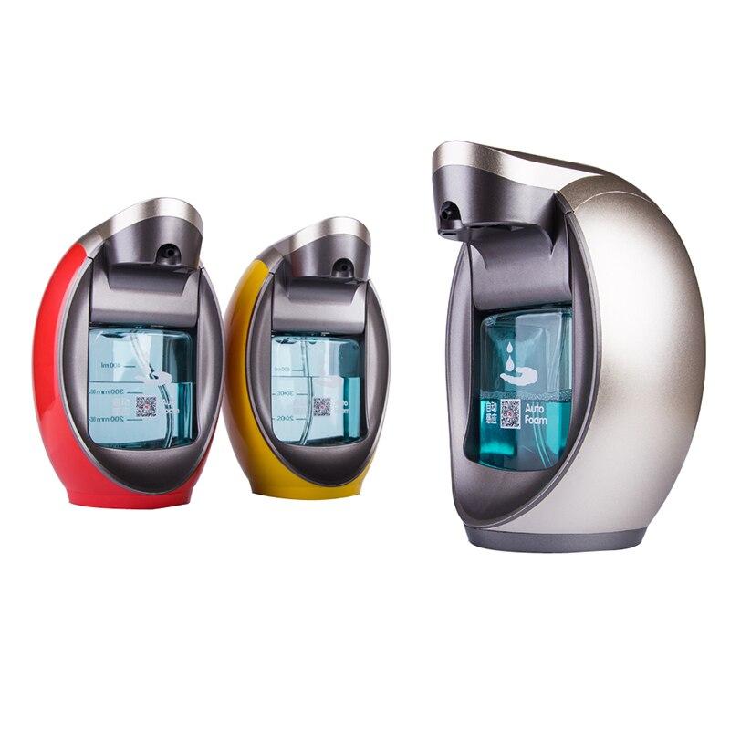 Distributeur automatique de savon en mousse désinfectant Intelligent pour les mains distributeur automatique de savon distributeur mural haut de gamme distributeurs de savon 400 ml - 4