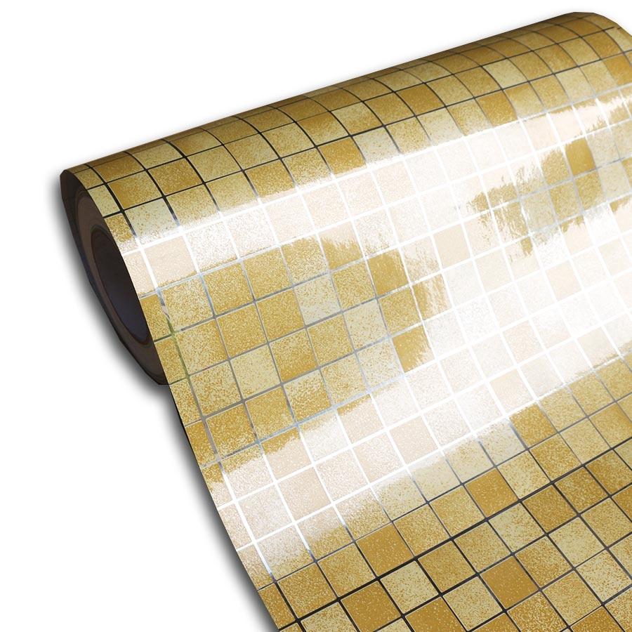 Awe Inspiring Us 12 98 30 Off Aluminum Foil Self Adhesive Wallpaper Bathroom Wall Decor Kitchen Backsplash Waterproof Tile Shelf Liner Adhesive Contact Paper In Interior Design Ideas Truasarkarijobsexamcom