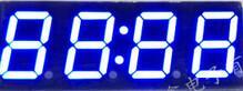 50 шт. x 0,56 дюйм(ов) синий нефрит зеленый 4 Цифровой пробки с часами светодиодный Дисплей модуль 5463AB 5463BB 5463AGG 5463BGG