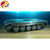 Original DOIT Oversized Tank Model Chassis Track Tracked Suspension Damping Crawler Capterpillar RC Toy for Crawler Robot