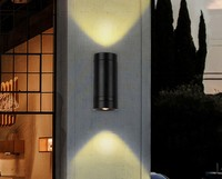 10W LED outdoor wall lamp porch exterior sconce lighting lantern light fixture