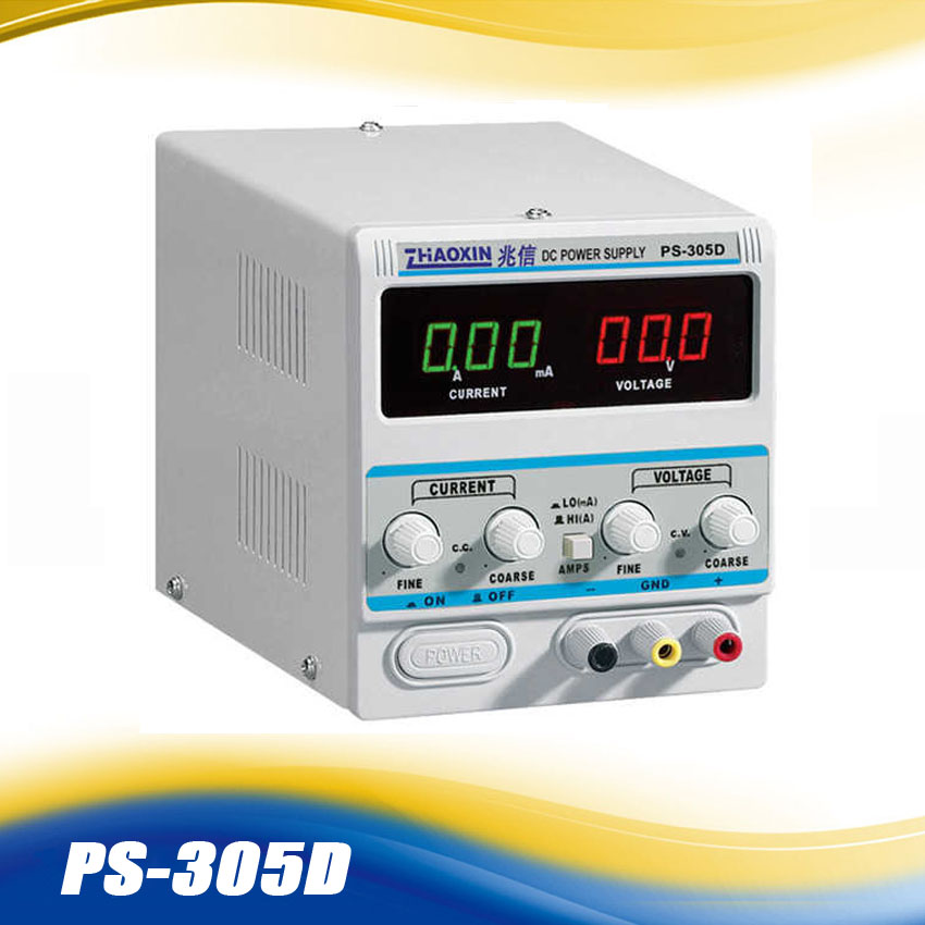 ZHAOXIN PS-305D Variable 30V 5A DC Power Supply For Lab Adjustment Digital Regulated DC Power Supply  AC 110V  220V +/-10% икона янтарная богородица скоропослушница кян 2 305