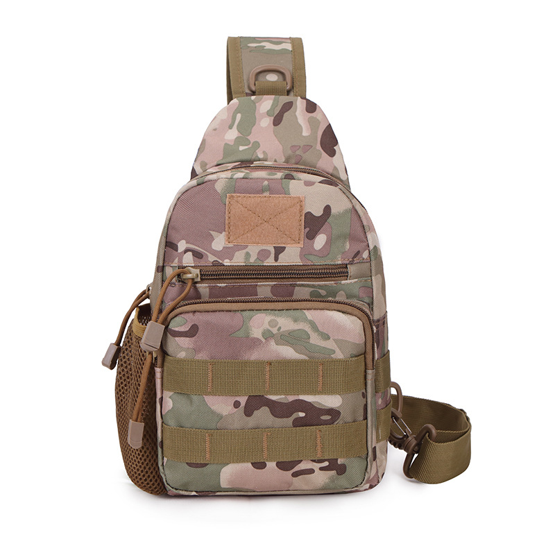 Climbing Bags Camping & Hiking Military Tactical Chest Pack Fly Equipment Nylon Wading Chest Pack Cross Body Sling Single Shoulder Bag