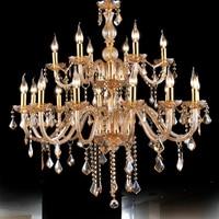 amber chandelier 18 modern design chandeliers kronleuchter aus kristall lamparas de cristal techo led avize crystal lamp