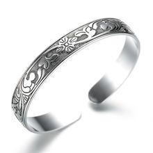 Стерлинговое Серебро 925 пробы Ретро стиль тайское серебро роза