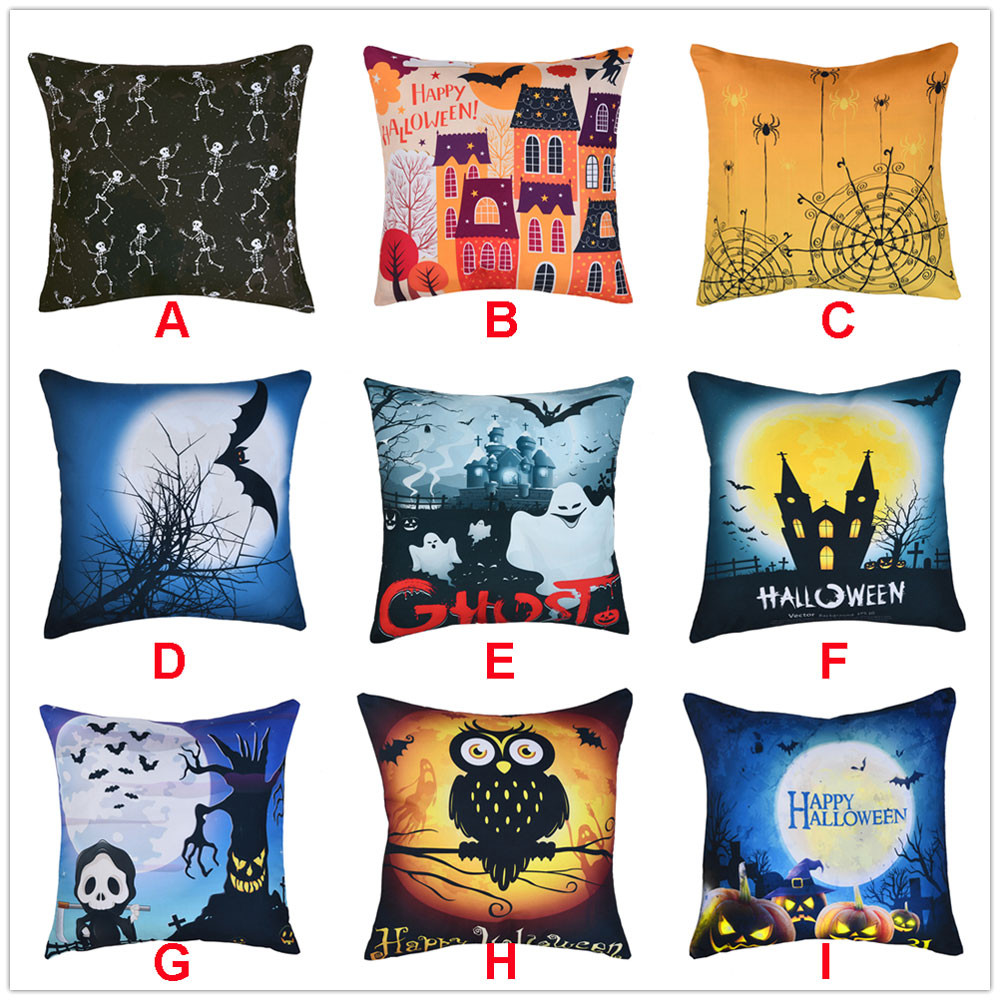 Home Textile 2018 Pillowcases Christmas Home Decoration Office Sofa Geometric Design Cushion Cover Square Pillow Case Funda Cojin Cojines