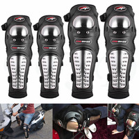 Universal protective accessories motorcycle knee pads elbow stainless steel knee pads kit For BMW K1200R SPORT R1200S F800S|Motorcycle Protective Kneepad| |  -