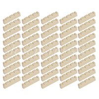 Bass Guitar Nut for 4 String Jazz Precision P Bass Guitar Parts Replacement 42mm Pack of 50