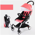 Landscape switchable shock baby stroller 3 in 1 wheel BB lay folded baby wheelchair For Infant children hand push baby carriages