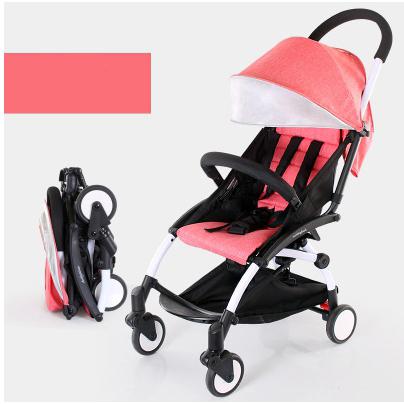 Paisagem comutável choque carrinho de bebê 3 em 1 roda BB estava dobrado cadeira de rodas Para crianças Infantis do bebê impulso da mão do bebê carruagens