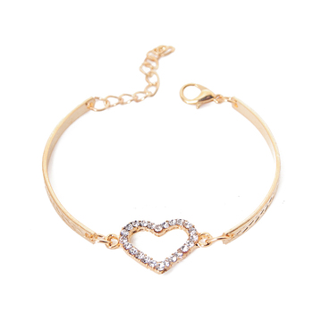 Heart Charm Bracelets for Women 1