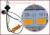 Para mazda 323 acessórios LED Light Bulb Cauda Pausa Parar Turn Signal luz Dois função de prevenção de Colisão