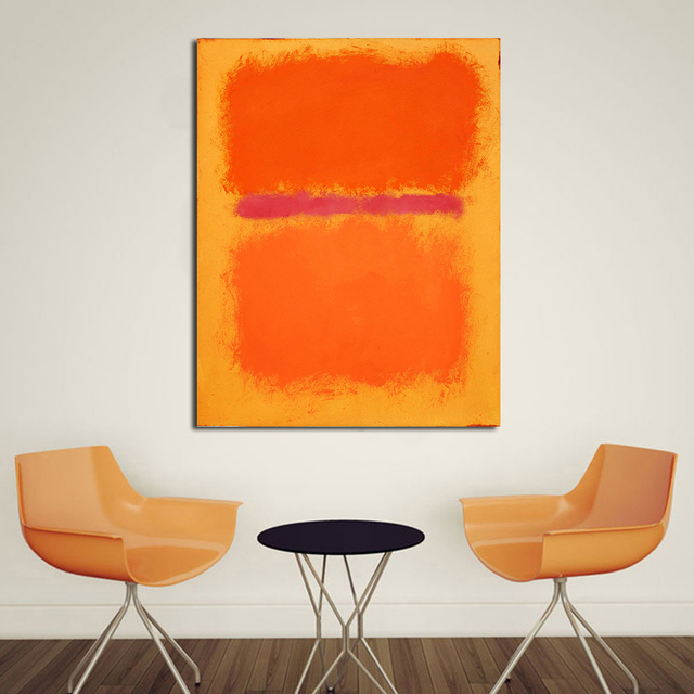 QCART MARK Rothko Malerei Wandkunst Leinwand Dekorative Wohnzimmer Malerei  Wandmalerei Bild Kein Rahmen