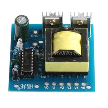 Placa de Poder V para AC Nova 150 W Impulso Conversor DC 12 220 V Inversor Transformador S018y Alta Qualidade