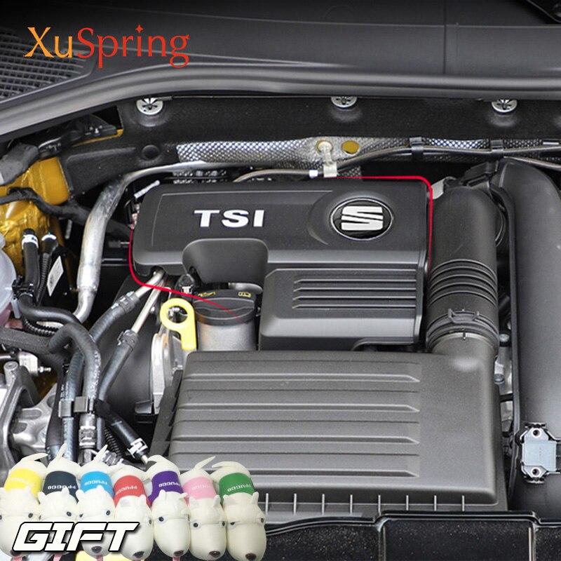 For Seat Ateca Leon FR Toledo 1 4T EA211 Engine Protective Cover Bonnet Cap 04E103925H 04E103932D