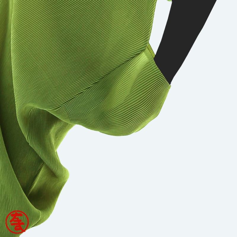 Vert Jaune Beige marron orange or Miyake Pantalon Lâche vert gris Nouvelles Printemps jaune fuchsia longueur kaki Issey bleu Été Jambe Noir Plissée zangqingse noir Large Veau pourpre Femmes Casual 6SaRwHqZ