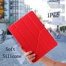 Trifold YiPPee Color Case For iPad Pro 9.7 inch Sleep/Wake Up Flip PU Leather Luxury Cover Smart Fundas