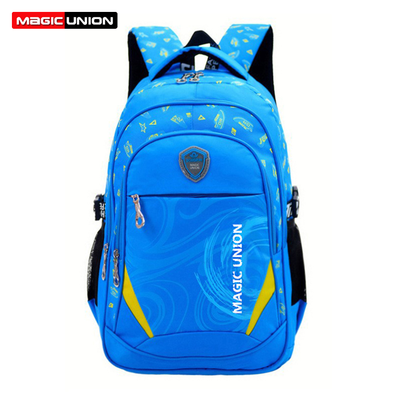 MAGIC UNION Children School Bags Brand Design Child Backpack In Primary School Backpacks Mochila Infantil Zip High Quality baijiawei new children school bags for girls boys children waterproof backpack in primary school backpacks mochila infantil zip
