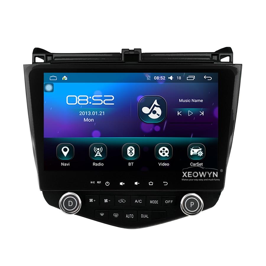 Android 6,0 1024*600 Quad core 10,1 Автомобильный Радио gps навигация для HONDA Accord 7 2003-2007