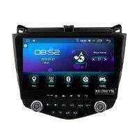 Android 6,0 1024*600 Quad core 10,1 Автомобильный Радио gps навигация для HONDA Accord 7 2003 2007