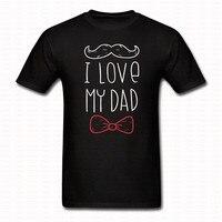 Ben BABAM Babalar Günü Harfler Tişörtlü Hip Hop Baba gün Hediye Sakal ve Kravat Baba Pamuk Yenilik Üst Tee Camisetas T-shirt