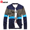 High Quality Men Cardigan 2015 Autumn Knitting Long Sleeve V-neck Knitwear Stripe Cotton Casual Sweaters For Men Plus Size XXL