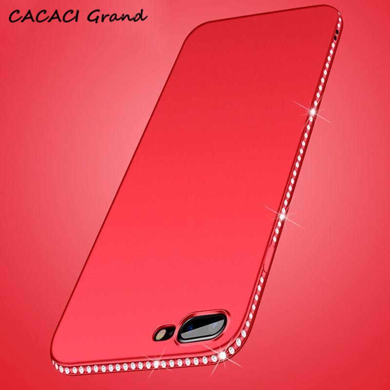 Coque Candy Diamond чехол для телефона для iPhone SE 5 5S X 7 6 s 8 6S Plus XS Max XR блестящие стразы Мягкий силиконовый чехол s Fundas etui