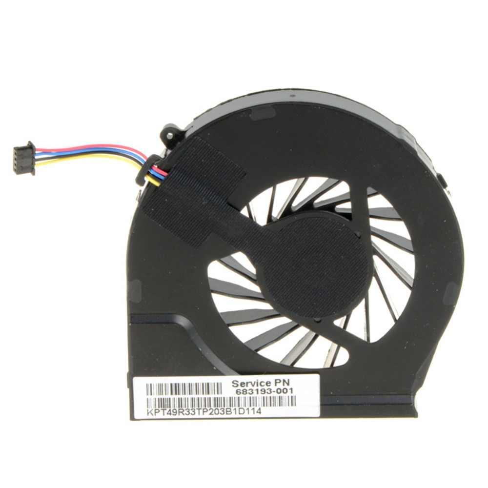 Ноутбук компьютер замены Процессор вентилятор охлаждения, пригодный для hp павильон G6-2000 G6-2100 G6-2200 Серия ноутбуков 683193-001 аккумулятор большой емкости