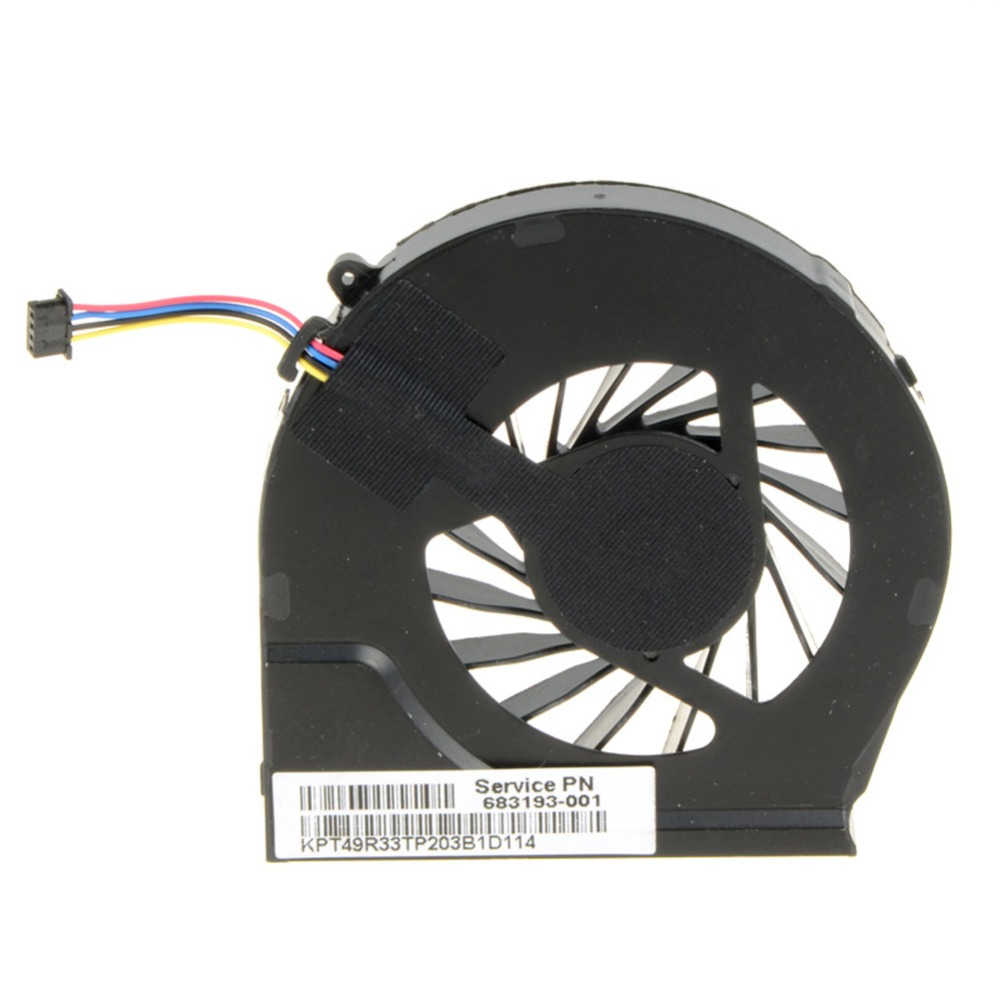 Laptops Computer Replacements CPU Cooling Fan Fit For HP Pavilion G6-2000 G6-2100 G6-2200 Series Laptops 683193-001 image