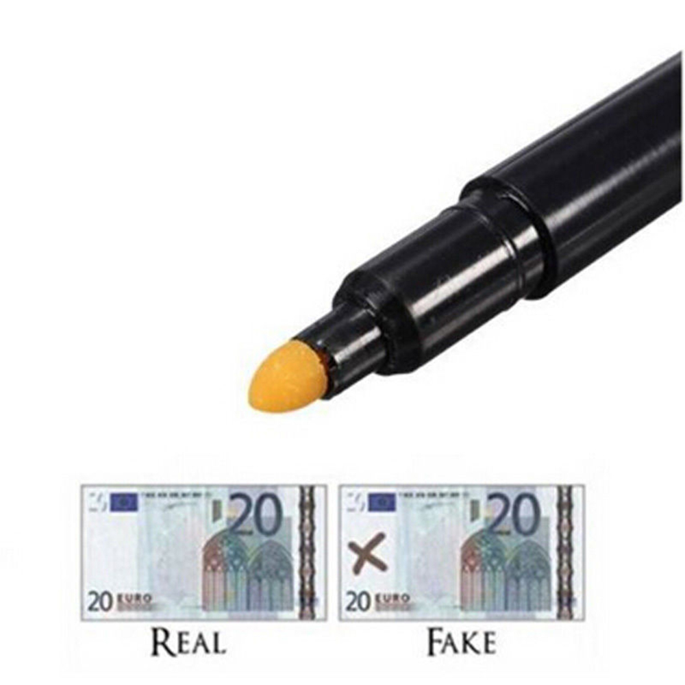 new money checker counterfeit detector marker fake banknotes tester pen black cnchina
