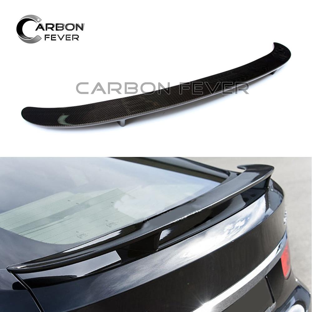 For BMW F07 GT Carbon Fiber Rear Trunk Spoiler Wing 5 Series GT 2010 + Fastback 535i 550i for bmw f20 spoiler ac style bmw 1 series f20 f21 carbon fiber rear roof spoiler 116i 120i 118i m135i 2014 2015 2016 2017