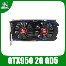 Original new nvidia chipset geforce video graphic card GTX950 2GB GDDR5 game card for game boy