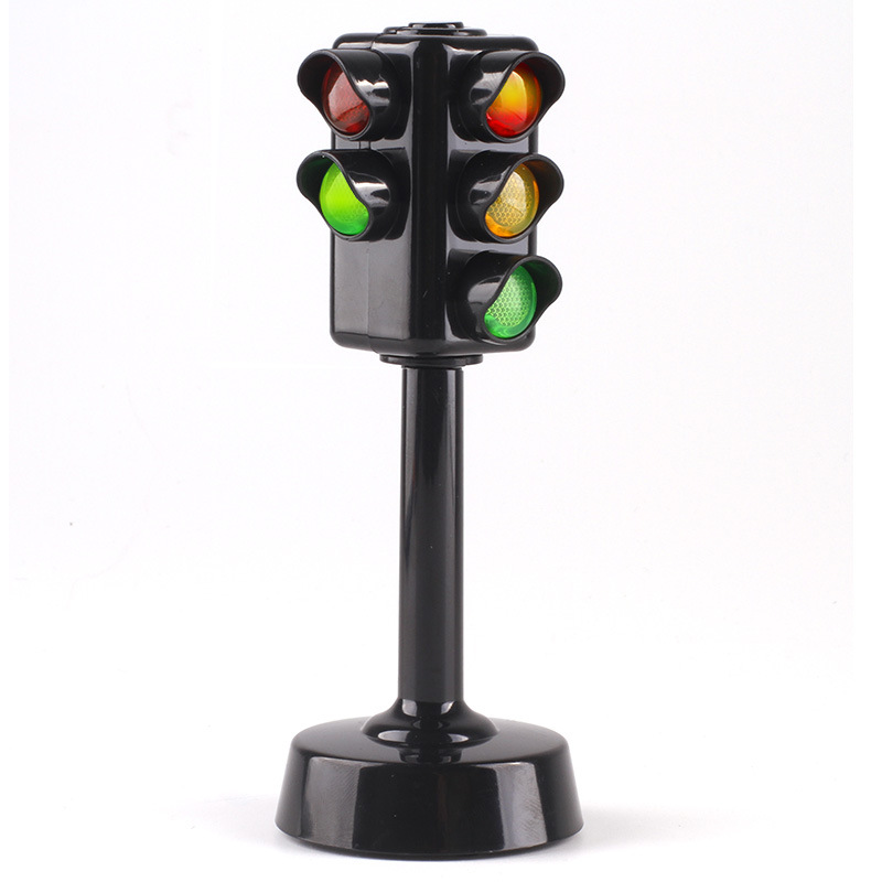 Traffic Light Toy Educational Mini Electric Train Flashing Model Kids Lights  Railway Brinquedos