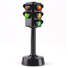 Traffic Light Toy Educational Mini Electric Train Toy Flashing Model Kids Traffic Lights  Railway Brinquedos Traffic Light Toy traffic lights toy 24cm road signs children model scene simulation teaching child traffic light signal lamp toy live voice