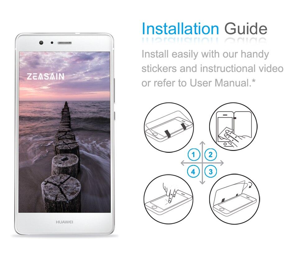 [2 փաթեթ] Բնօրինակ ZEASAIN 2.5D 0.3 մմ HD մաքուր - Բջջային հեռախոսի պարագաներ և պահեստամասեր - Լուսանկար 6