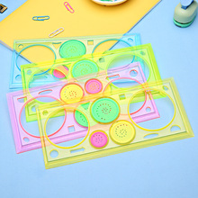 1PC Spirograph Geometric Ruler Learning Drawing Tool Stationery For Student Drawing Set Creative Gift