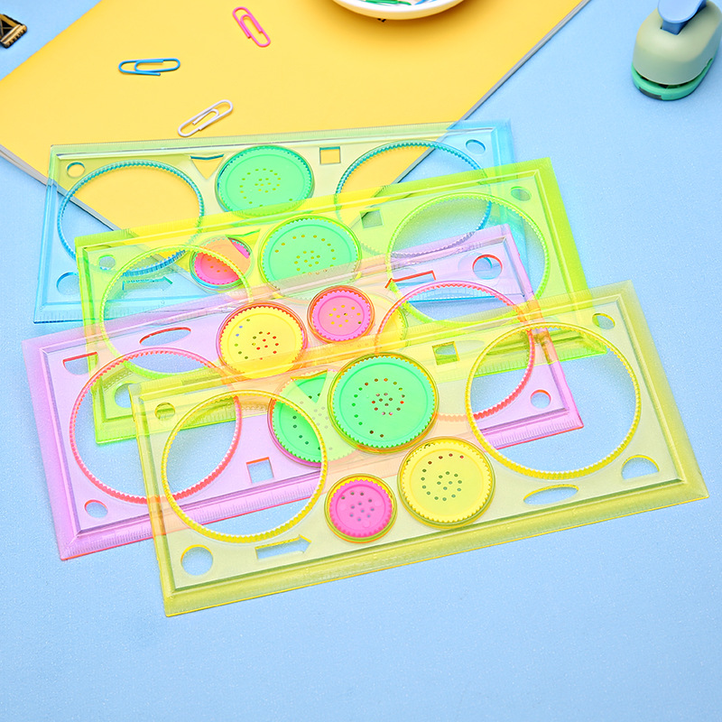Spirograph Geometric Ruler Learning Drawing Tool Stationery For Student Drawing Set Creative Gift