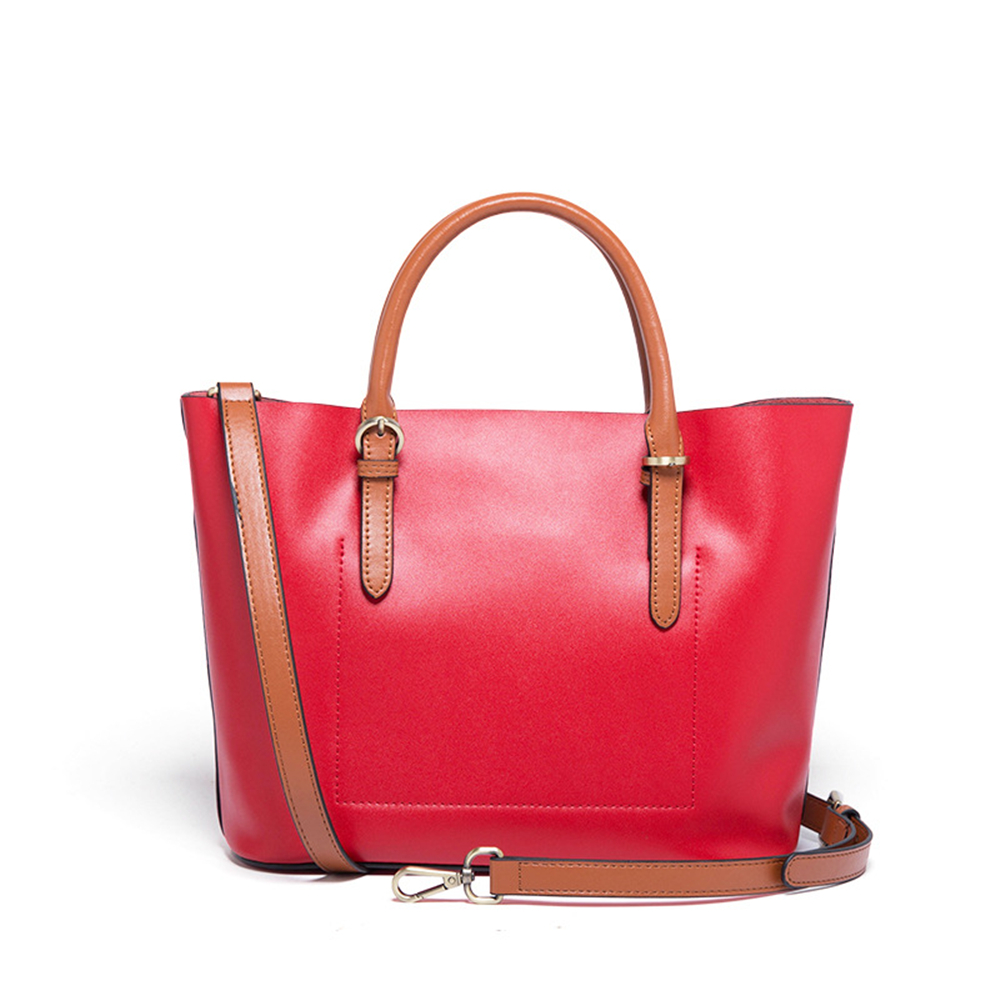 Hot Sale High Quality Shopping Bag Split Leather Women Shoulder Bag Large Capacity Women Causal Totes