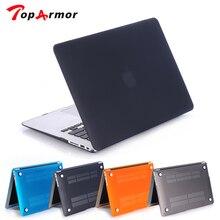 Прозрачный матовый чехол для Apple Macbook Air 13, Чехол Air 11 Pro 13 retina 12 13 15, сумка для ноутбука Mac book, чехол для клавиатуры