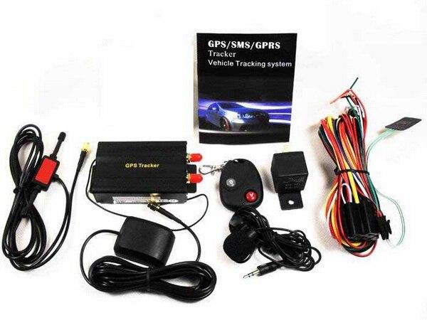 DHL или FedEx 5 шт. Coban TK103B Автомобильный gps трекер+ пульт дистанционного управления Автомобильная сигнализация Португальский ПК gps система слежения