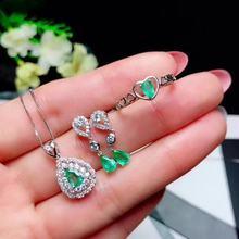 88982a9f8b33 Compra emerald jewelry set y disfruta del envío gratuito en ...
