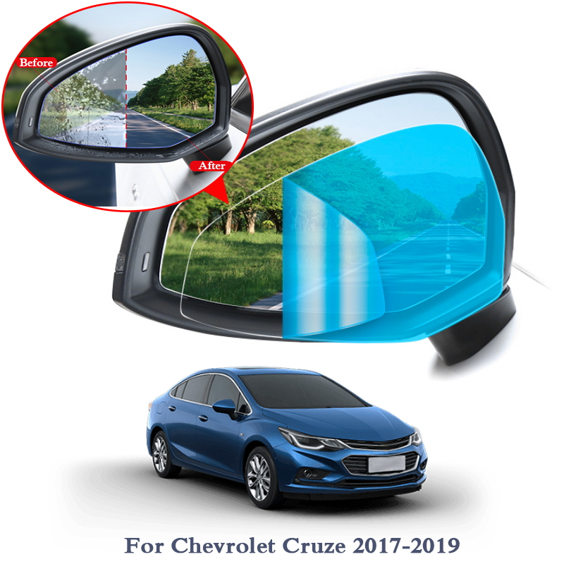 2pcs Car Waterproof Anti Fog Film Rearview Mirror Film Sticker Window Clear Sticker For Chevrolet Equinox Aveo Sail Cruze Captiv Car Stickers Aliexpress