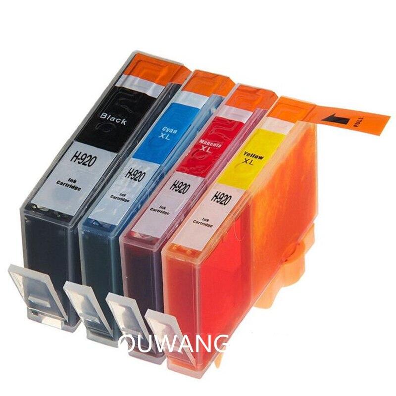 Cartuchos de tinta compatíveis para officejet deskjet 6000 6500 7000 7500a impressora completa para 920 xl 920xl cartucho para 920xl/e709c